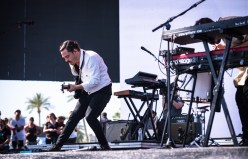 Local Natives performs at the Coachella Music Festival in Indio, California on April 15, 2017. (Photo: Charles Reagan)