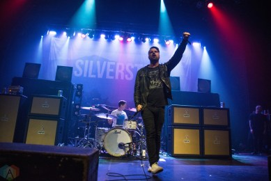 Silverstein performs at the Danforth Music Hall in Toronto on April 19, 2017. (Photo: Morgan Hotston/Aesthetic Magazine)