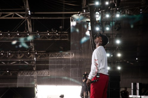 Skepta performs at the Coachella Music Festival in Indio, California on April 16, 2017. (Photo: Julian Bajsel)