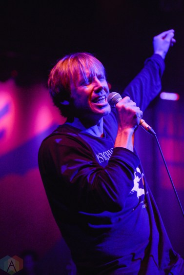 Thursday performs at the Danforth Music Hall in Toronto on June 24, 2017. (Photo: Joanna Glezakos/Aesthetic Magazine)