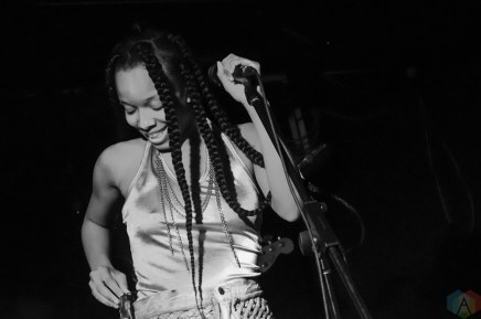 Jamila Woods performs at the Garrison in Toronto on July 21, 2017. (Photo: Morgan Harris/Aesthetic Magazine)
