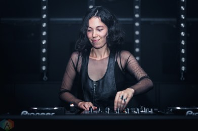 Kelly Lee Owens performs at Coda in Toronto on July 14, 2017