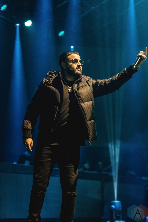 TORONTO ON  NOVEMBER 5 Nav performs at Rebel in Toronto