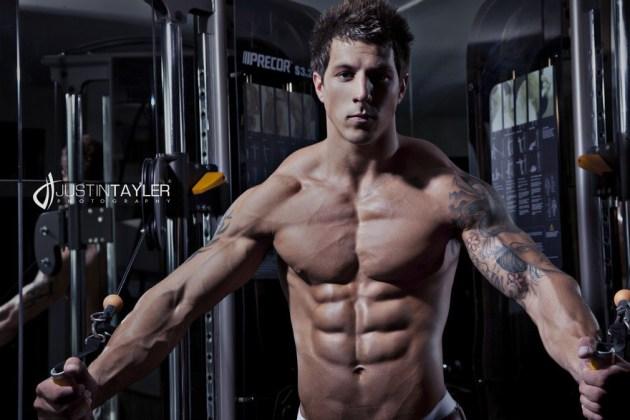 Lee Stram  SHREDDED male AESTHETIC physiques