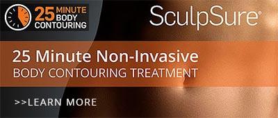 Reduce stubborn fat with SculpSure