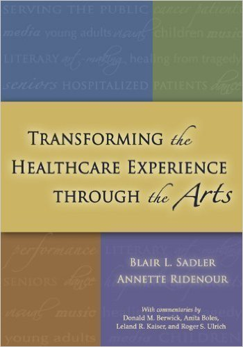 https://www.amazon.com/Transforming-Healthcare-Experience-Through-Arts/dp/0984232605/ref=sr_1_1?ie=UTF8&qid=1475264874&sr=8-1&keywords=Transforming+the+Healthcare+Experience+through+the+Arts