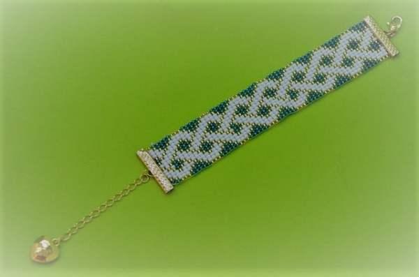 kit para fazer pulseira de miçanga no tear 011