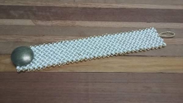 bracelete de miçangas 015 4