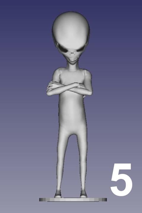 ET Grey Zorak Pose 5