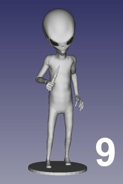 ET Grey Zorak Pose 9