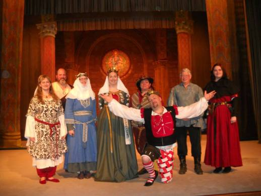 Royals and bardic competitors