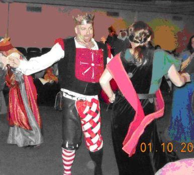 Titus dancing