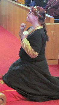 Mistress Ekaterina Volkova steps down as Signet. Photo by Lady Christina Mary Lowe, called Jinx.