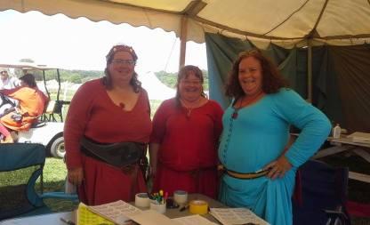 Baroness Anna, Baroness Elizabeth and Baroness Rynea at AE Hospitality.