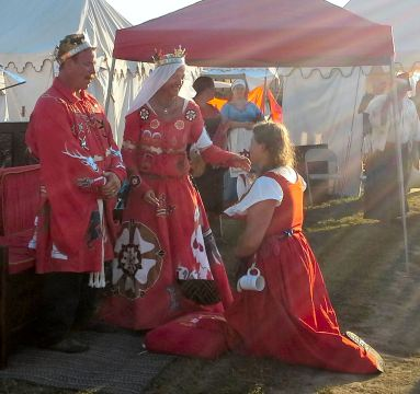 Katheryn Tantzel receiving her Keystone. Photo by Arianna.