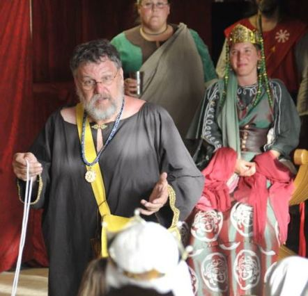 Lord Nigel is named Court Magician. Photo by Baron Steffan.