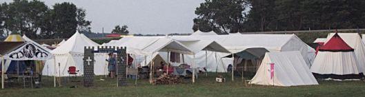 multiple tents Rowena