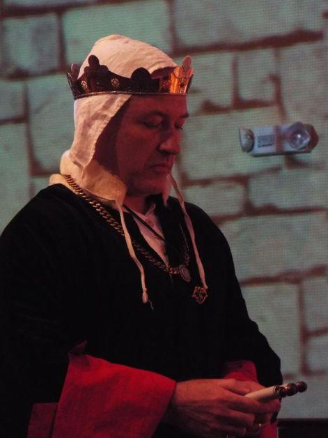 Christopher coronation ceremony