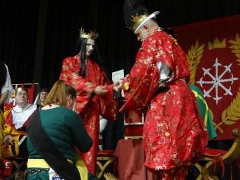 Baroness Soteria receives a Millrind.