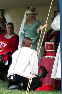Lord Cyrus receives a Keystone. Photo by Jinx.