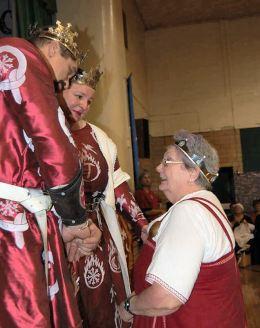 Mistress Maria Christina is made a Court Baroness