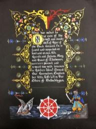 Ogier Alce scroll