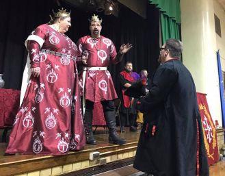 Ogier receives a Golden Alce