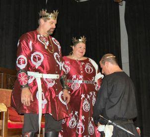 Robeke receives his AoA