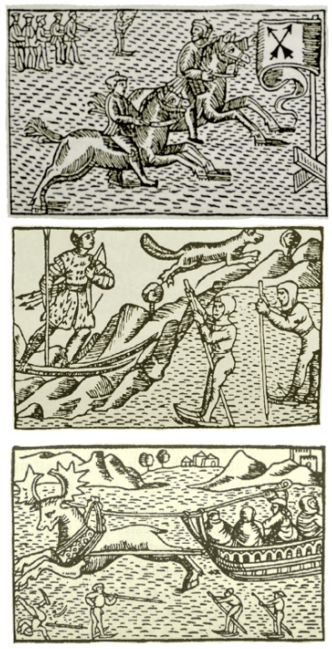 Illustrations from Olaus Magnus