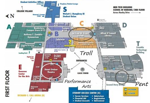 GCC map 1st floor