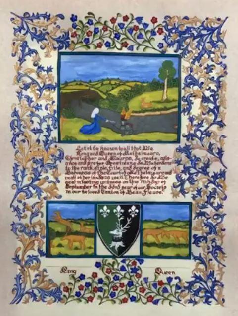 Scribal Contest - Tierrany Rose Orre