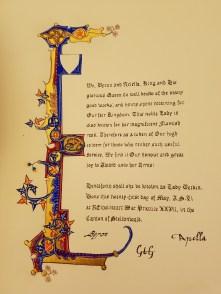 Scroll by Lady Vivienne of Yardley