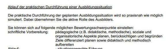 problematische Ausbildereignungsprüfung der IHK Dresden