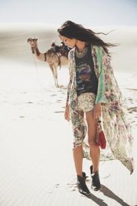 """Gypsy"" kimono"
