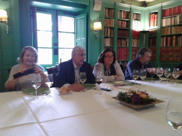 La AEG invitada por la Academia Gallega de Gastronomía