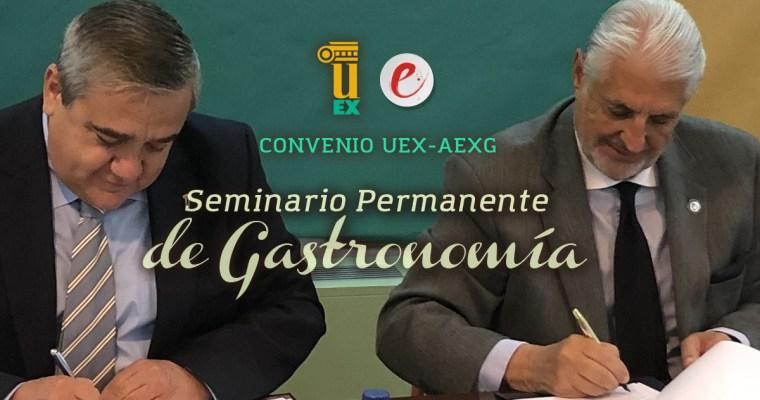 Convenio UEX-AEXG: Seminario Permanente de Gastronomía