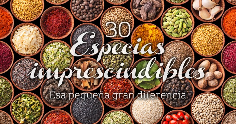 30 Especias imprescindibles