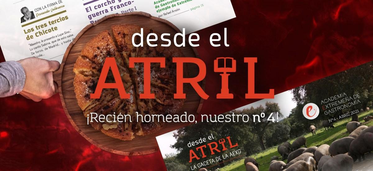 DESDE EL ATRIL: ¡RECIÉN HORNEADO EL Nº4!