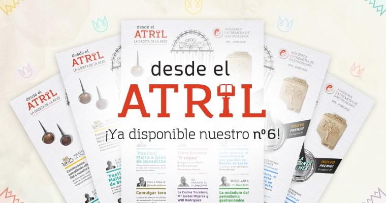 DESDE EL ATRIL Nº6 YA DISPONIBLE