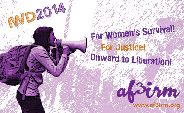 AF3IRM's 2014 International Working Women's Day Statement