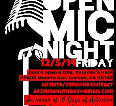 AF3IRM South Bay & KmB x Sessions Open Mic