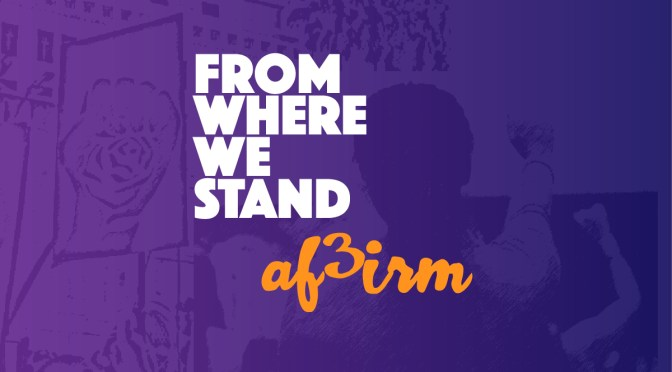 From Where We Stand: AF3IRM Statement on the U.S. Presidential Elections