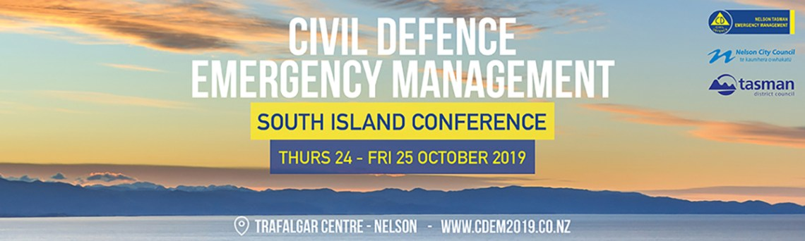 South Island Civil Defence Emergency Management Conference 2019