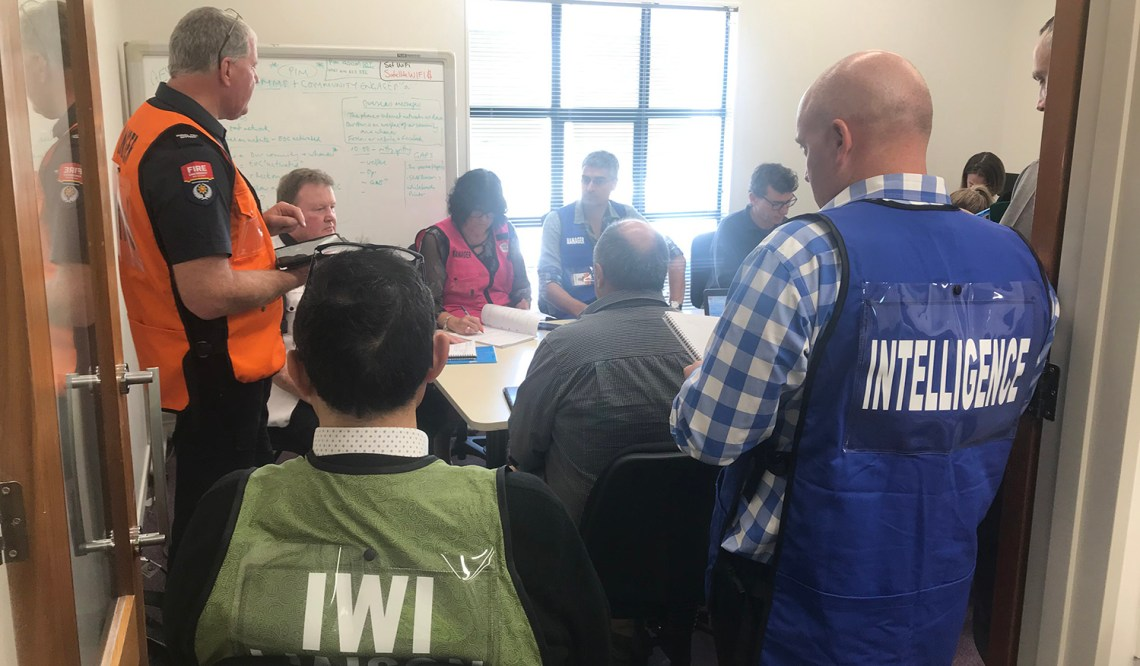 Exercise Ru Whenua South Island Tier 3 Alpine Fault exercise 2019