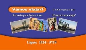 AFABB-ES Excursão Buenos Aires