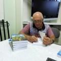 """Pré-lançamento do livro  """"Historinhas do BB"""" de Aquiles Paula de Freitas"""