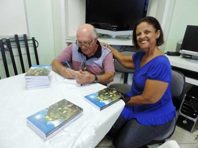 pré-lançamento do livro Historinhas do BB na AFABB-ES