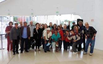 grupo no museu do amanhã