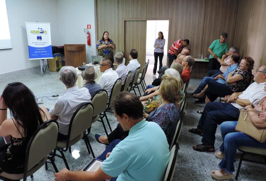 AFABB-ES promove Encontro Estadual dos Associados da Região Sul