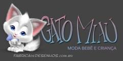 Logo Gato Miau com mascote